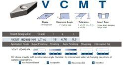 Destička VCMT 160408 NN LT 10 LAMINA