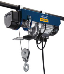 SCHEPPACH HRS 400 Naviják lanový elektrický 780W 200/400kg- Lanový naviják elektrický,400kg