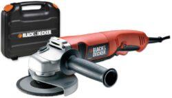 BLACK DECKER KG1200K Bruska úhlová 125mm 1200W-Úhlová bruska Black & Decker 125mm 1200W