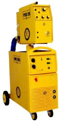 OMICRON OMI 385S (PSV 20-4) /2091/ Svářecí poloautomat 350A-Svářecí stroj MIG/MAG se snímatelným podavačem svářecího drátu