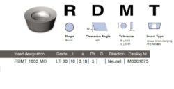 Destička RDMT 1003 MO LT 30 LAMINA