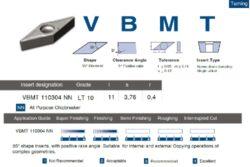 Destička VBMT 110304 NN LT 10 LAMINA