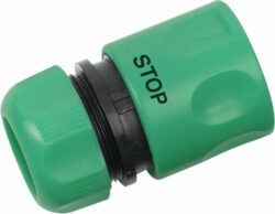 """VARO VG7103 Rychlospojka 3/4"""" PVC STOP ventil- Rychlospojka 3/4"""" se STOP ventilem"""
