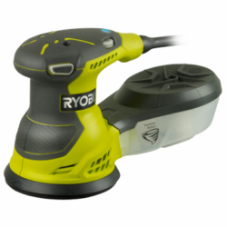 RYOBI ROS300 Bruska excentrická 125mm 300W-Excentrická vibrační bruska, výkon 300 W