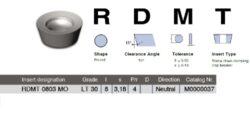 Destička RDMT 0803 MO LT 30 LAMINA