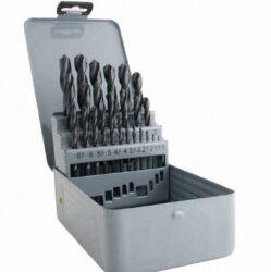 MAGG 26025 Sada vrtáků 25dílná 1,0-13mm do kovu HSS DIN338-Sada vrtáků HSS (25ks/1,0-13,0mm)/plech