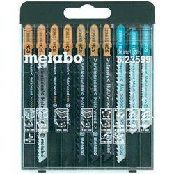 METABO 623599000 Sada pilových listů 10dílná                                    -Sada pilových listů 10dílná použití dřevo.kov,plast