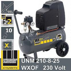 SCHNEIDER A711001 Kompresor UniMaster EXTRA 210-8-25 WXOF-Kompresor UniMaster EXTRA