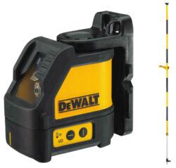 DEWALT DW088KPOL-XJ Laser křížový-Laser / vyměřovací tyč