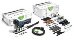 FESTOOL 576620 Pila přímočará CARVEX 550W PS 420 EBQ SET-Pila přímočará 550W s příslušenstvím
