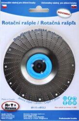 MAGG ROTO11515 Rotační rašple jemná 115x22,2x1,5mm pro úhlové brusky-Rotační rašple jemná 115x22,2x1,5mm pro úhlové brusky