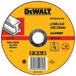 DEWALT DT42400 Kotouč řezný 150x3mm-Kotouč řezný 150x3mm