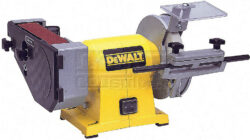 DEWALT DW753-QS Bruska kotoučová 150mm kombinovaná s pásem-Bruska kombinovaná 300W