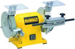 DEWALT DW754-QS Bruska dvoukotoučová 125mm-Dvoukotoučová bruska 300W 125mm
