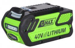 GREEN WORKS 29727 Akumulátor 40V 4,0Ah G40B4-40 V lithium iontová baterie 4 Ah
