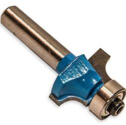 MAGG WJ011 Fréza stopková profilová s ložiskem R13 30x25mm S8mm-Fréza do dřeva - D=30, H=25, L=48, B=5, S=8mm
