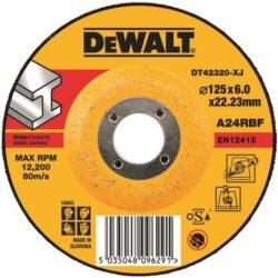 DEWALT DT42320 Kotouč brusný 125x6mm-Kotouč brusný 125x6mm