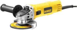 DEWALT DWE4157-QS Bruska úhlová 125mm 900W-Úhlová bruska 900 W, kotouč 125 mm, beznapěťový spínač