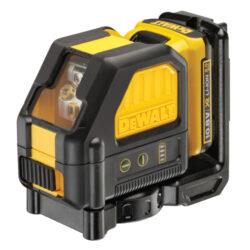 DEWALT DCE088D1G-QW Aku laser křížový 10,8V 1x2,0Ah zelený paprsek-Aku laser křížový 10,8V 1x2,0Ah zelený paprsek
