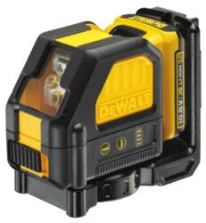 DEWALT DCE088D1R-QW Aku laser křížový 10,8V 1x2,0Ah červený paprsek-Aku laser křížový 10,8V 1x2,0Ah červený paprsek