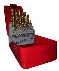 MAGG 070005 Sada vrtáků 25dílná 1-13mm HSS TiN-Sada vrtáků 25dílná 1-13mm HSS TiN
