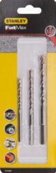 STANLEY STA58680-QZ Sada vrtáků do betonu 5-8mm 3dílná-Sada vrtáků do betonu 5-8mm 3dílná