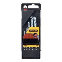 STANLEY STA56035-QZ Sada vrtáků do betonu 4-10mm 5dílná-Sada vrtáků do betonu 4-10mm 5dílná