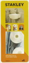 Hmoždinka do betonu pro montáž umyvadla 8x110mm SET2 STANLEY STF78115-XJ