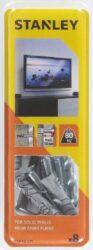 Hmoždinka do betonu pro montáž TV 8x40mm s vrtákem SET8 STANLEY STF78105-XJ