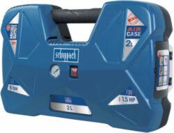SCHEPPACH AIR CASE Kompresor bezolejový 2L 1100W 120L/min 8bar-Kompresor bezolejový 2L 1100W 120L/min 8bar