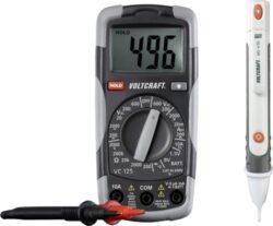 VOLTCRAFT 1214405 Multimetr digitální + zkoušečka DT-TEST-KIT 150-Digitální multimetr a bezdotyková zkoušečka Voltcraft DT-TEST-KIT 150