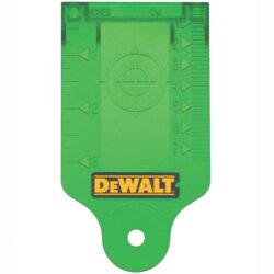 DEWALT DE0730G Terčík zvýrazňovací s magnetem pro lasery zelený