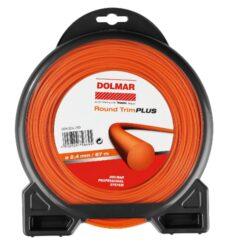 DOLMAR 369224793 Žací struna 2,4mm 87m Round Trim Plus-Žací struna 2,4mm 87m Round Trim Plus