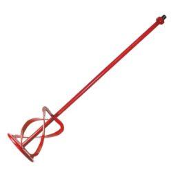 LOBSTER 104412 Metla pravá 3-ramenná 140x600mm M14 červená