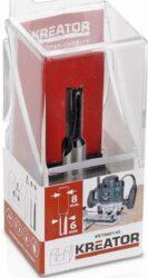 KREATOR KRT060145 Fréza drážkovací D6 S8-Fréza drážkovací D6 S8