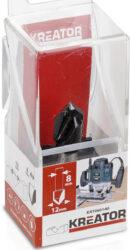 KREATOR KRT060140 Fréza drážkovací špice 90° D12 S8-Fréza drážkovací špice 90° D12 S8