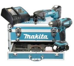 MAKITA DLX2031YX1 Set nářadí 18V /DDF456+ TM50/-Set nářadí 18V