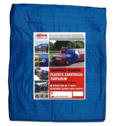 Plachta zakrývací modrá 4x5m LOBSTER 102282