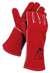 ČERVA 01020070 Rukavice svářečské PUGNAX RED červené vel.10