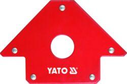 YATO YT-0864 Úhelník svářečský magnetický 102x155x17mm-Úhelník svářečský magnetický 102x155x17mm