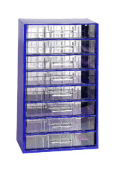 MARS 6753 Skříňka na nářadí 8V modrá-Skříňka na nářadí 8V modrá