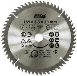 MAGG 9318560 Pilový kotouč HOBBY SK 185x2,5x20 60z-Pilový kotouč HOBBY SK 185x2,5x20 60z