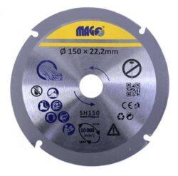 MAGG SH150 Kotouč na dřevo pro úhlové brusky 150mm                              -Kotouč na dřevo pro úhlové brusky 150mm
