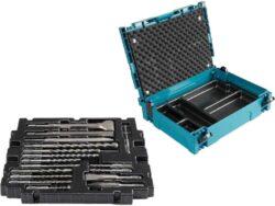 MAKITA B-52059 Sada vrtáků a sekáčů SDS-plus 17dílná v systaineru-Sada vrtáků a sekáčů SDS-plus 17dílná v systaineru