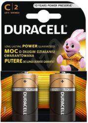 Baterie DURALOCK LR14/2 (2ks/bal) mono mini Basic DURACELL 101205