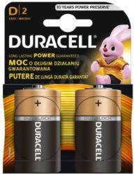 Baterie DURALOCK LR20/2 (2ks/bal) mono big Basic DURACELL 101206