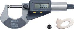 YATO YT-72305 Mikrometr DIGI 0-25mm 0.002mm-Mikrometr DIGI 0-25mm 0.002mm