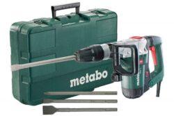 METABO 690850000 Kladivo sekací SDS-max 1300W 8,6J MHE 5-Kladivo sekací SDS-max 1300W 8,6J + sada sekáčů v kufru
