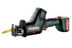 METABO 602322500 Aku pila mečová 12V 2x2,0Ah PowerMaxx SSE 12 BL-Aku pila mečová 12V 2x2,0Ah bezuhlíkový motor