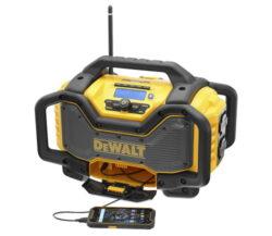DEWALT DCR027-QW Aku rádio FM/AM/DAB/BT/USB/2x DC (10,8-18V) s nabíječkou-Aku rádio FM/AM/DAB/BT/USB/2x DC (10,8-18V) s nabíječkou